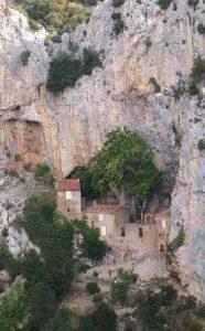 Ermitage dans les gorges de Galamus