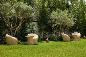 Dar Tanja, maison d'hôtes prêt du golf de Tanger, Jardin, Tanger 2016