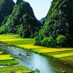 Admiration de beauté montagneuse du Nord Vietnam depuis le téléphérique Fansipan