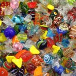 île de murano - bonbons de verre