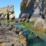 balade palmée à camaret sur mer - Snorkeling en Bretagne