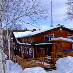 Cabane à sucre et activités hivernales au Canada