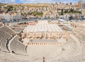 Le théâtre antique d'Amman, le cœur de la Jordanie