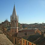 Panoramic penthouse Rome Spanish Steps 01