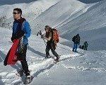 raquettes à neige en auvergne guide nature randonnée