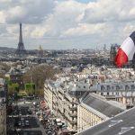 Flag Architecture Travel City Paris Pantheon