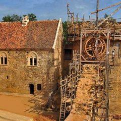 chantier médiéval de Guedelon