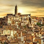 beautiful Matera - ancient city of Italy