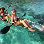 Kayak transparent moorea